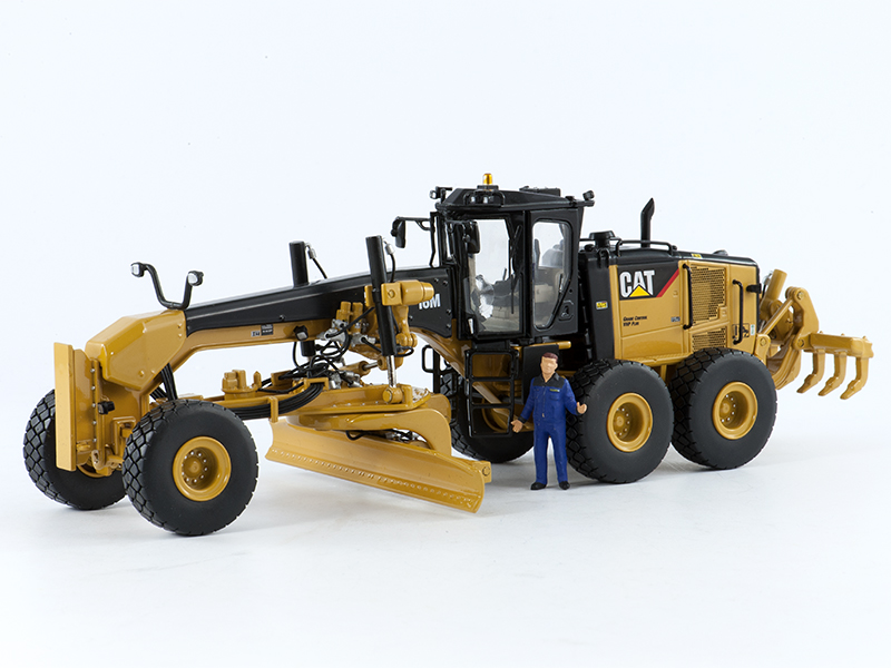 Minimovers Scalemodels Caterpillar 16m Motor Grader